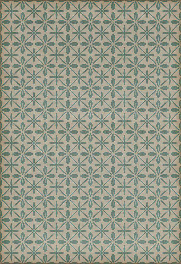 Spicher And Company Vintage Vinyl Floor Cloths Mosaic H Rugs In 2020 Vinyl Flooring Floor Cloth Rug Direct
