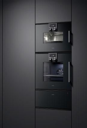 Noir Black Electromenager Groselectromenager Gaggenau Kitchen