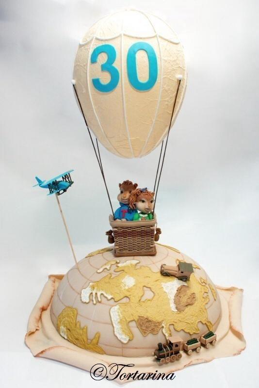 Chipmunks on tour - Cake by Sabrina