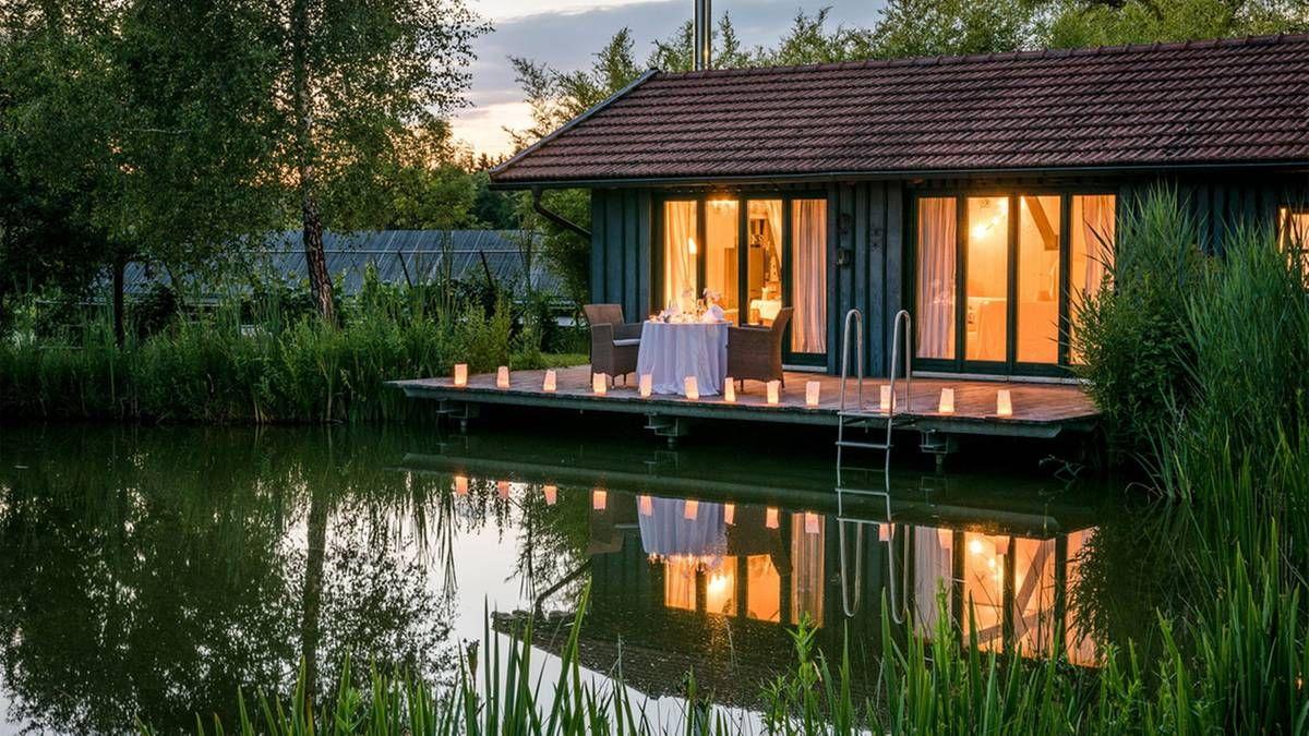 Platz ist in der kleinsten Hütte so romantisch ist ein