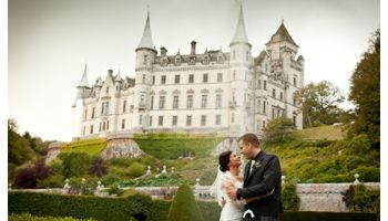Dunrobin Castle Wedding Photography Vicky And Stuart