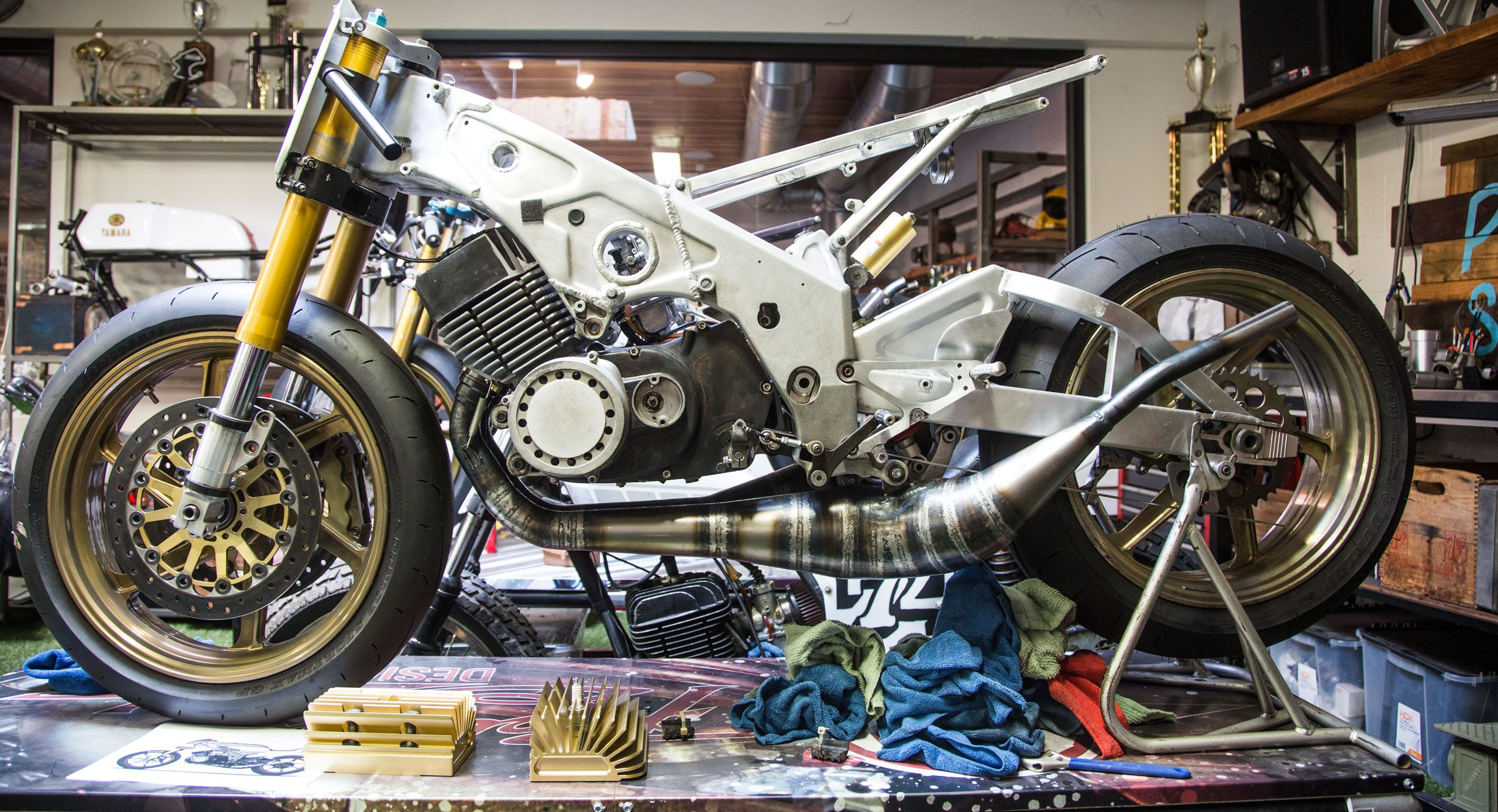 Bikes motorcycle parts and riding gear roland sands design -  2 Stroke Attack Born Free 7 Blog Motorcycle Parts And Riding Gear