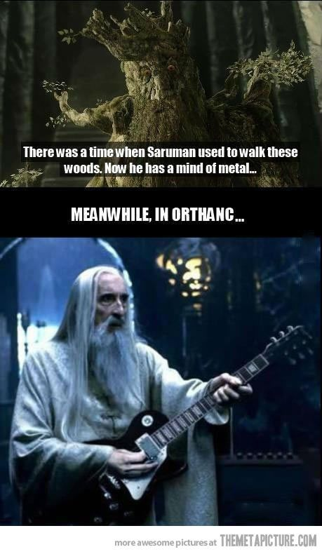 Rather Ironic as Christopher Lee did a few heavy metal Christmas ...