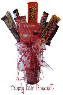 Candybar  bouquet