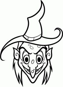 how to draw a witch face step 7 ARTIST in 2019 Witch