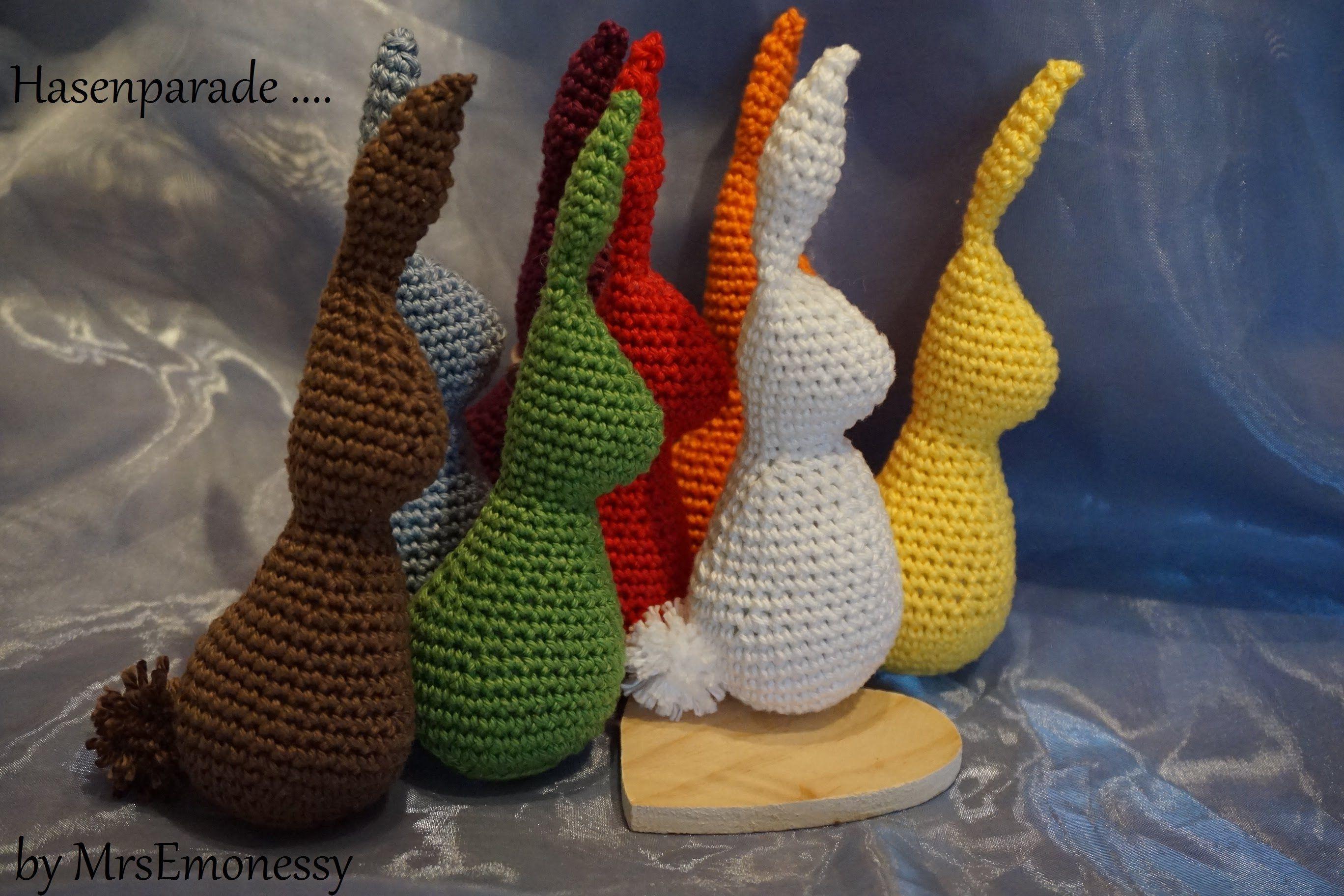DIY Hase Häkeln für Ostern free pattern english version | crochet ...