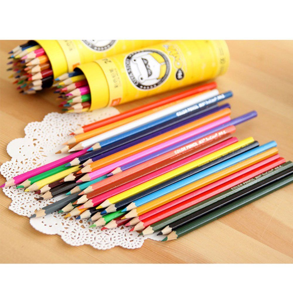 Colored Pencils For Grown Up Coloring Amazoncom Colored Pencil Niutop 36 Assorted Wooden Art