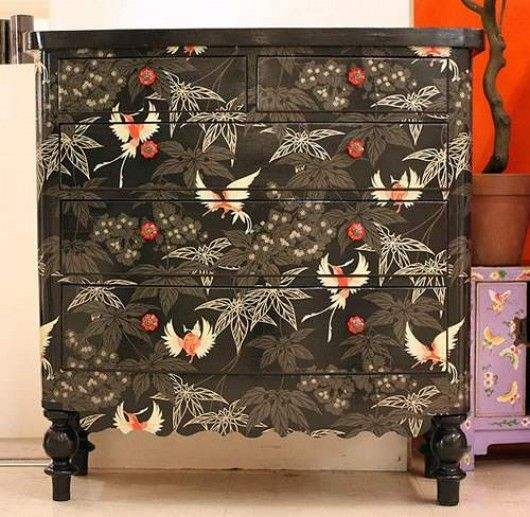Furniture with wallpaper decoration 15 Interior and Exterior