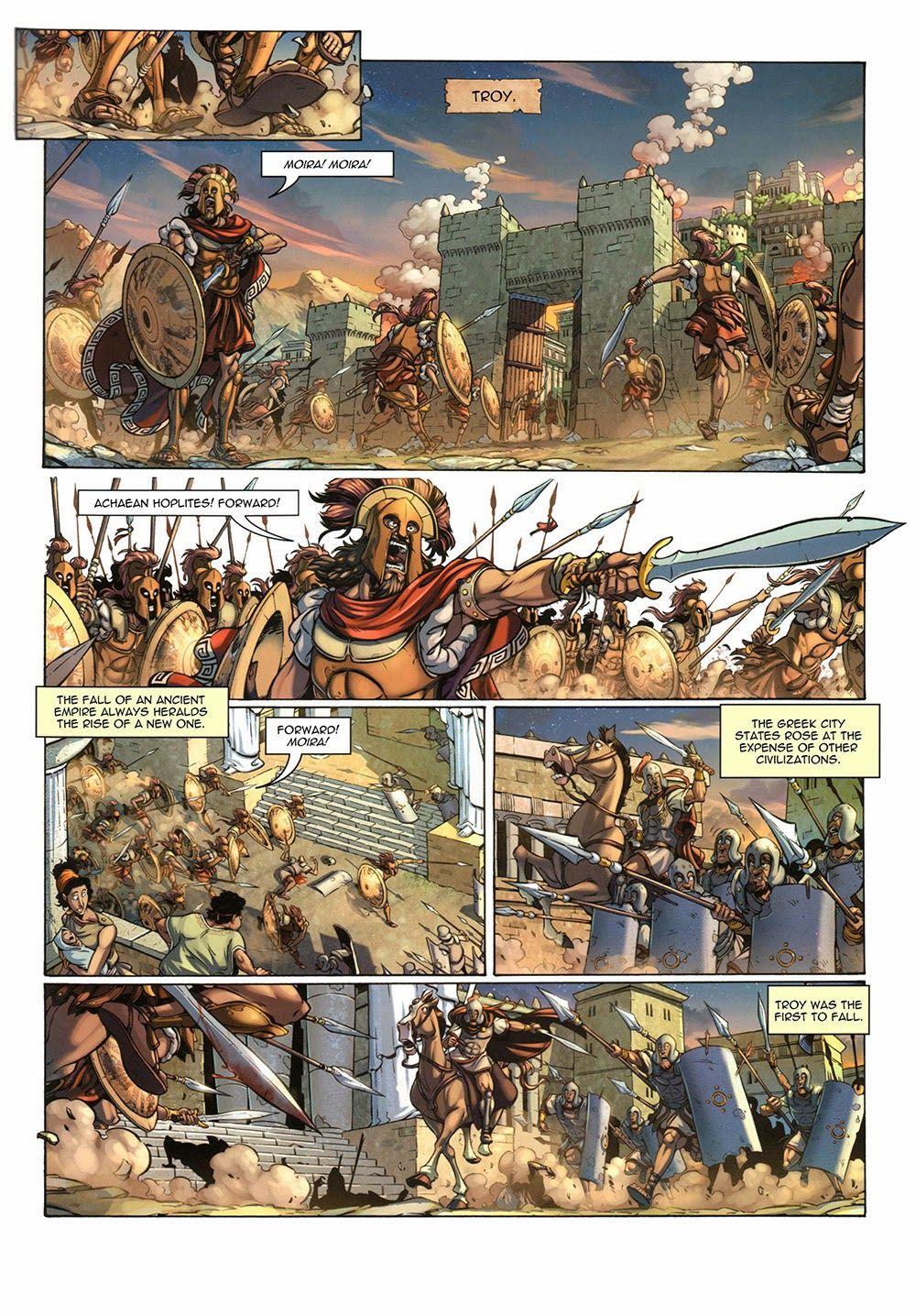 Questor 001 – Menage a Troy (English) (F2) (2011 ...