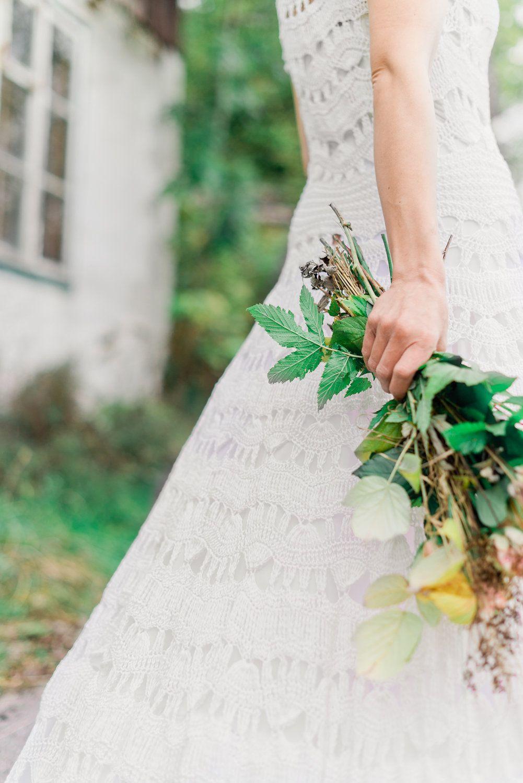 Pin by Sabine Mösenbacher on Brautkleider gehäkelt - crochet wedding ...
