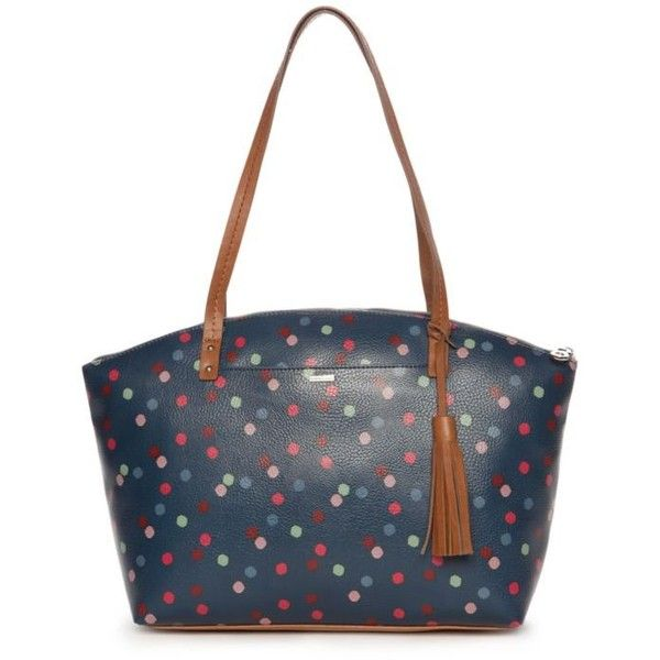 Kim Rogers Navy Multi Caraway Medium Tote (2.060 RUB) ❤ liked on Polyvore featuring bags, handbags, tote bags, navy multi, floral tote bag, navy tote bag, floral tote, man bag and white tote