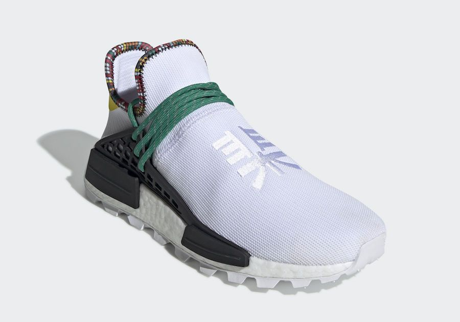 low priced 843f3 b72b1 Details about Adidas Pharrell Williams Human Race Nmd Hu ...