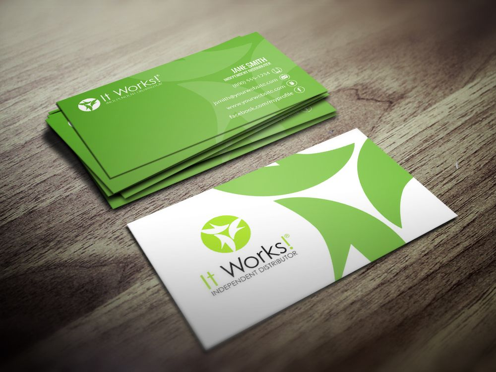 7 best It Works! Business Cards images on Pinterest   Business card ...
