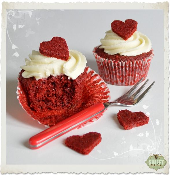 Sweet Mania: Red Velvet cupcakes me gusta bastante buena