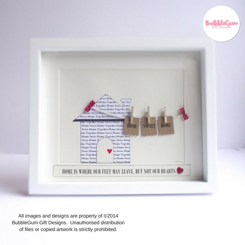 Details About Housewarming Gift Home Sweet Home New Home Gift Word