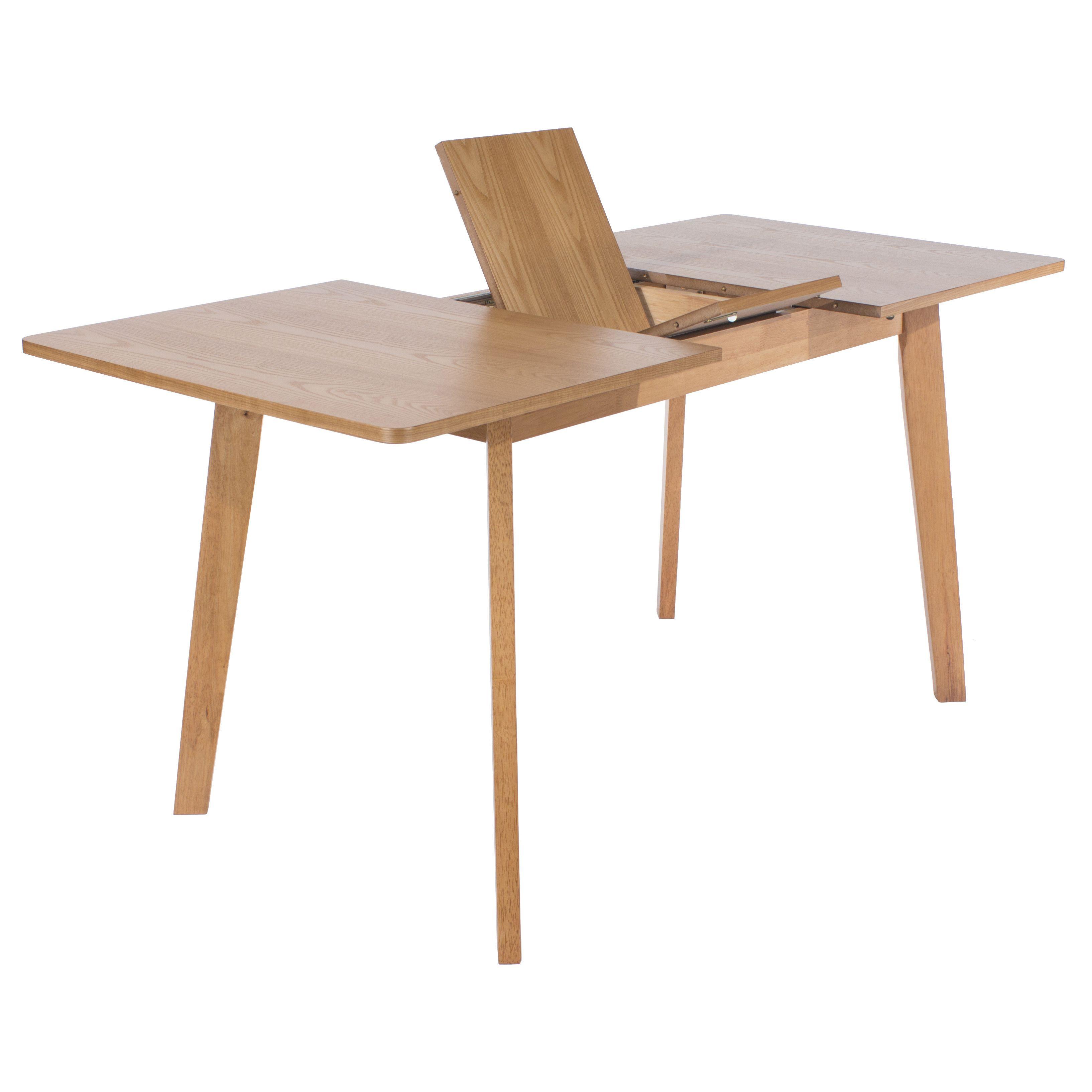 Home Loft Concept Cala Extendable Dining Table 120-150cms | Flat ...