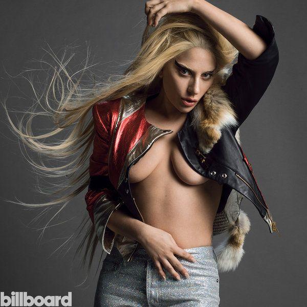 Lady Gaga por Inez & Vinoodh para Billboard 2015