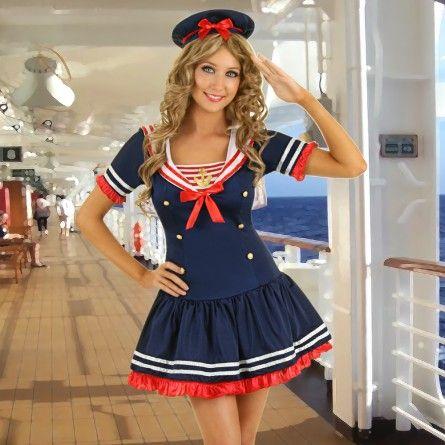 Sailor Pin Up Girl Costume Disfraces De Halloween Pinterest - halloween costume girl ideas