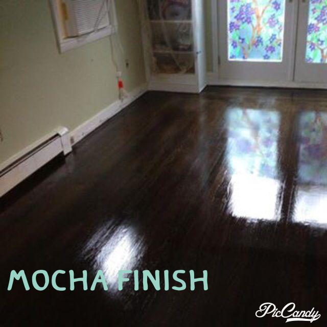 Floor finish option