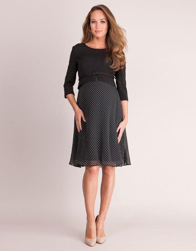 840e86886e Silk   Ponte Maternity   Nursing Dress