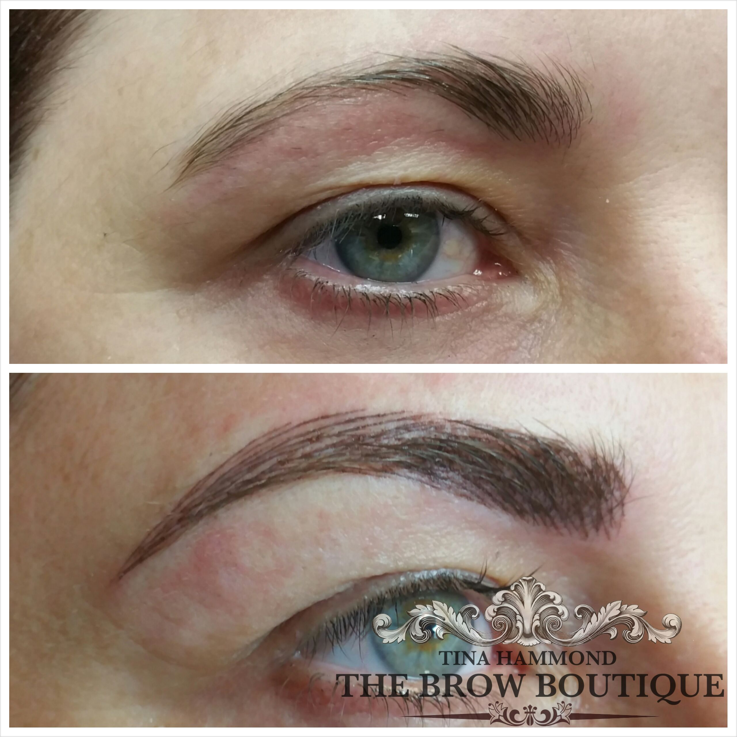 Cosmetic Tattoo Brows Permanent Make Up Brows 3d Tattooed Brows