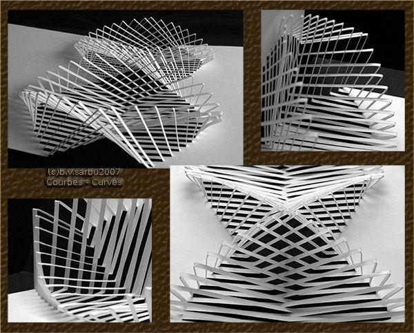kirigami mi ricorda tanto gli ideogrammi che si facevano con il computer papercraft. Black Bedroom Furniture Sets. Home Design Ideas
