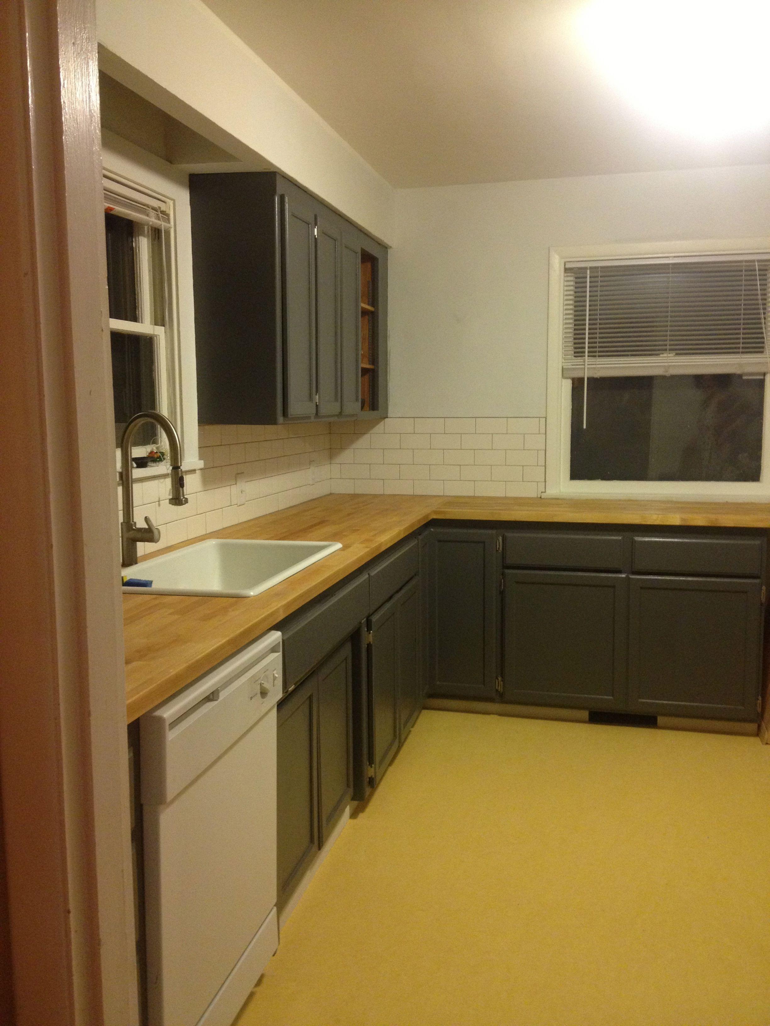 Rustoleum Cabinet Transformations Almost Complete Castle Grey Unglazed Kitchen Decor Apartment Kitchen Remodel Design Kitchen Decor Walmart