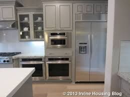 Image Result For Kitchen Refrigerators And Stoves On Same Wall Double Oven Kitchen Kitchen Kitchen Refrigerator