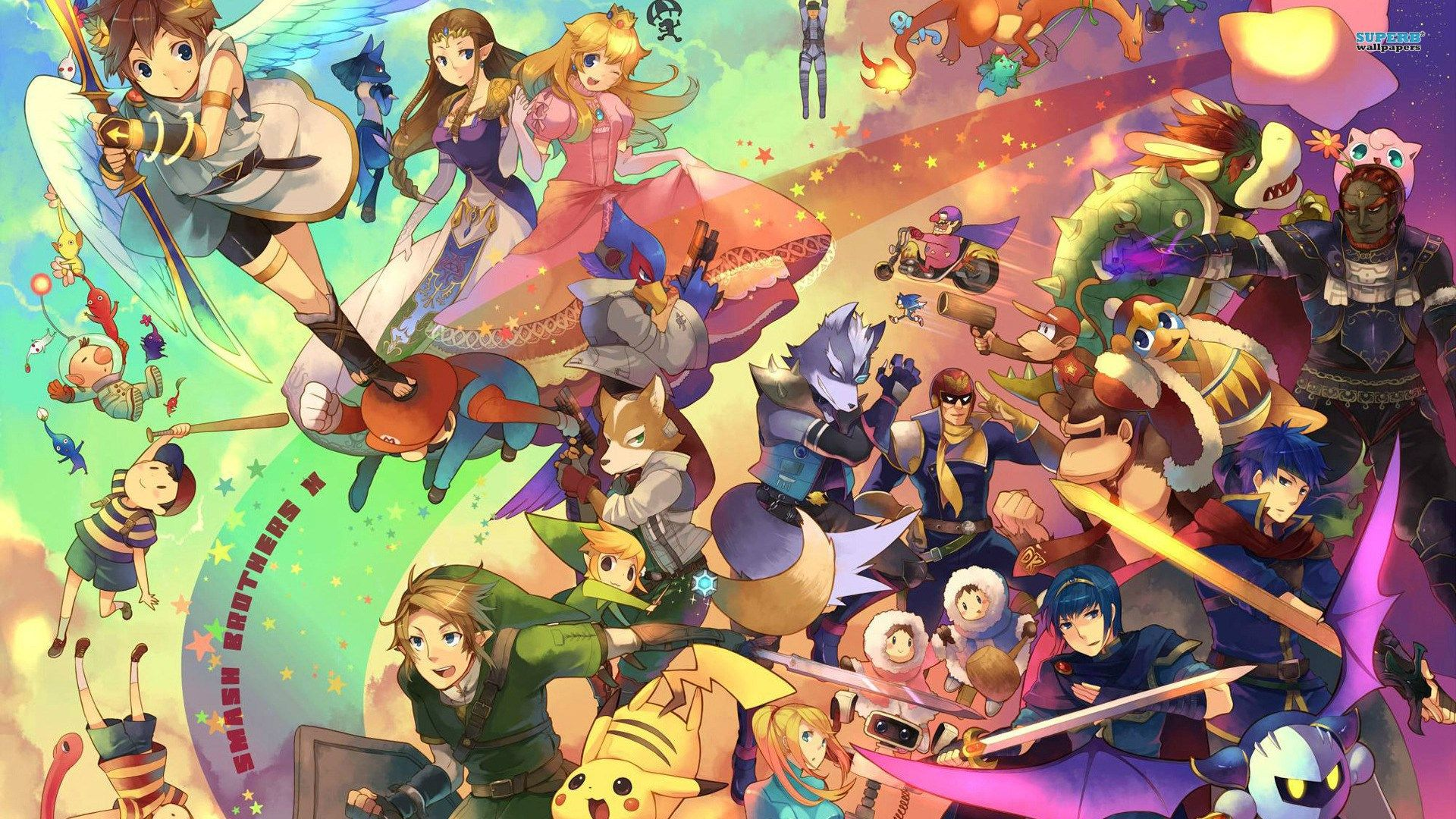 Photos Hd Super Smash Bros Wallpaper Smash Bros Super Smash