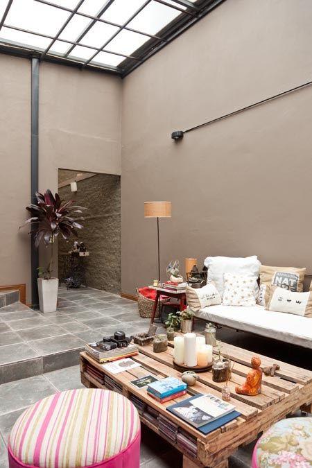 Interiores 154 Festin Pared Para Patios Patio Interior Colores Para Patios