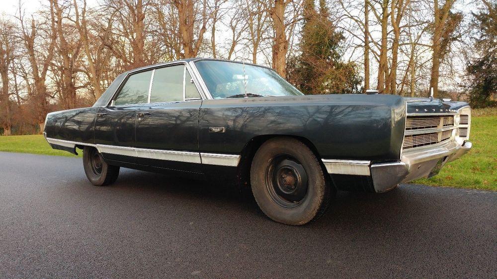 eBay: PLYMOUTH VIP V8 AMERICAN-CLASSIC-CAR-1967 UK REG | 1960\'s Cars ...