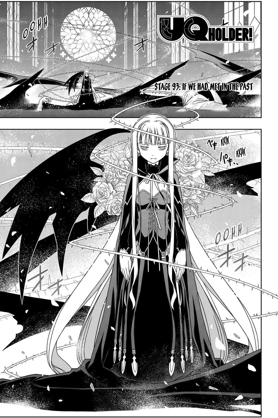 Read UQ Holder! Stage ChAP 93 online Anime, Holder, Manga