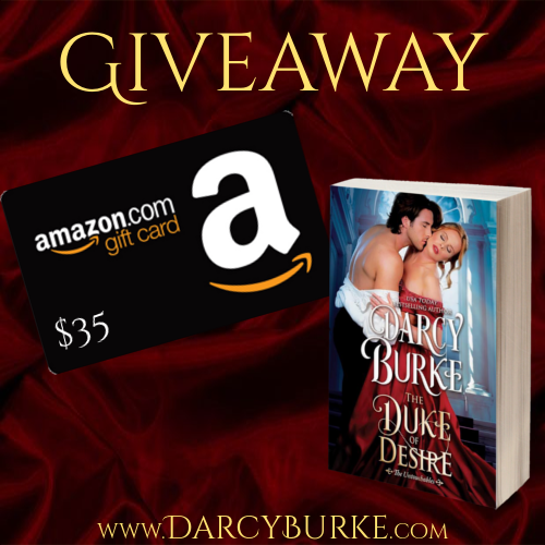 He doesn't allow anyone close enough to see past his charming exterior The Duke of Desire by Darcy Burke #GiftCard #GIVEAWAY ❤️❤️❤️❤️❤️Review An Author's Pal event