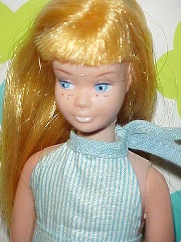 Vintage Barbie Doll SIS Skipper Clone Type w Midge Freckles Hong Kong Blonde | eBay