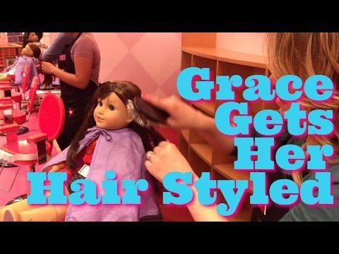 American Girl Doll Hair Salon Styles Youtube American Girl Hairstyles American Girl Doll Hairstyles American Girl