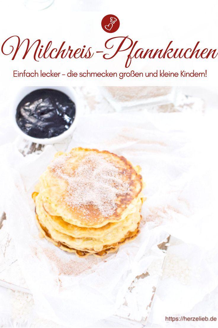 Milchreis-Pfannkuchen - Lieblingsessen to go! (Süßspeisen)