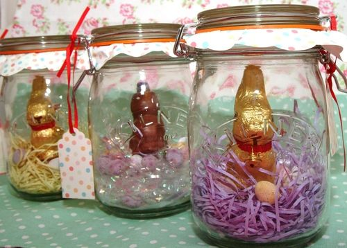 Easter bunny kilner jars a perfect easter gift for youngsters easter bunny kilner jars a perfect easter gift for youngsters and adults negle Images