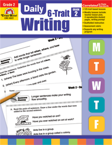 Daily 6-Trait Writing, Grade 2 - Teacher's Edition: Evan-Moor com