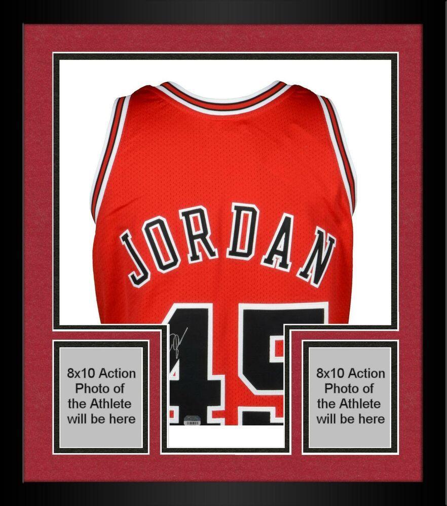 Autographed michael jordan bulls jersey fanatics authentic