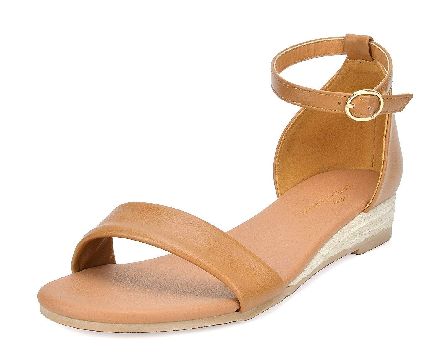 a4b53d03b3 DREAM PAIRS Women's Formosa_10 Wedge Sandal. Add a fancy sparkle to your  wordrobe with this