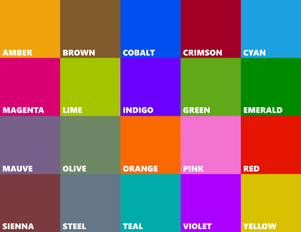 At the Windows Phone Summit, it was revealed that Windows Phone 8 would  offer greater accent color selection in lieu of an actual color selector.