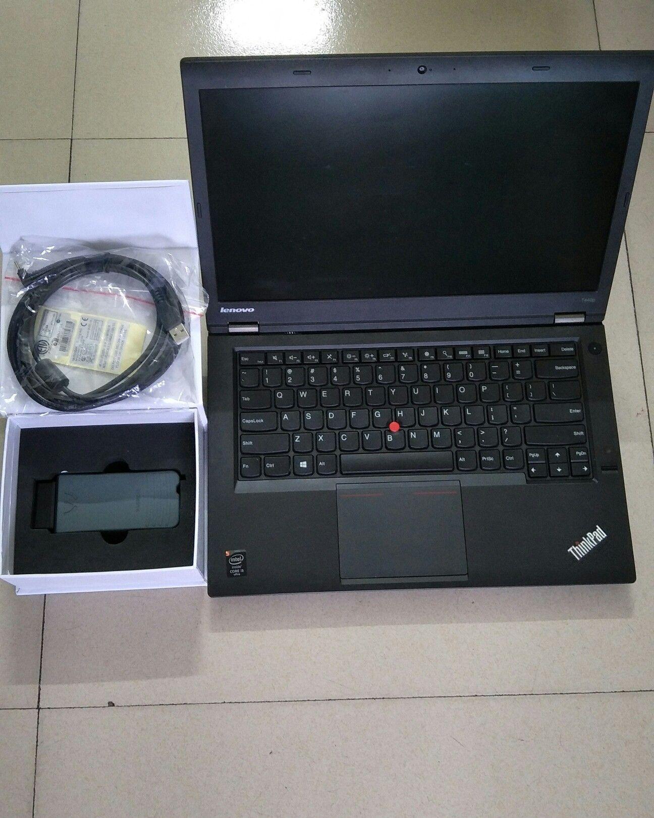 VAS5054a Audi VW ODIS Interface With Lenovo T430 Laptop Installed V5