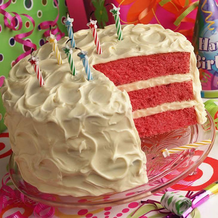 Strawberry Daiquiri Cake YUM!!