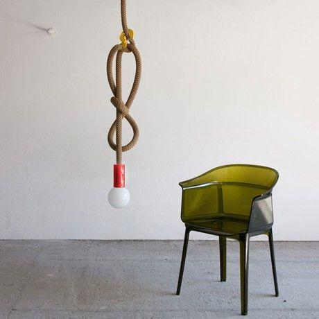 Best Hook Line Leuchte Braun Gelb Rot von Pani Jurek MONOQI