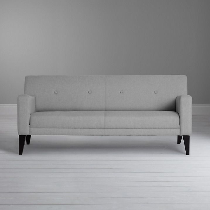 House By John Lewis Louis Medium Sofa Fraser Steel Online At Johnlewis