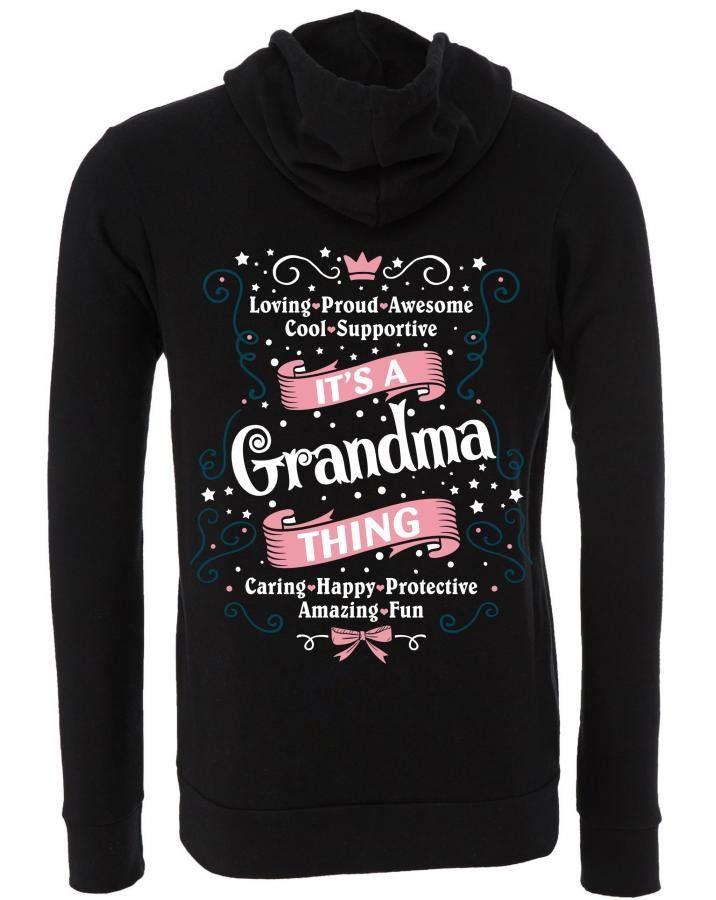It's A Grandma Thing Zipper Hoodie