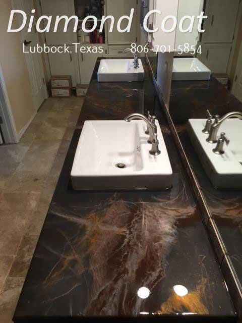 Black Bronze And Gold Vanity Gorgeous Natural Looking