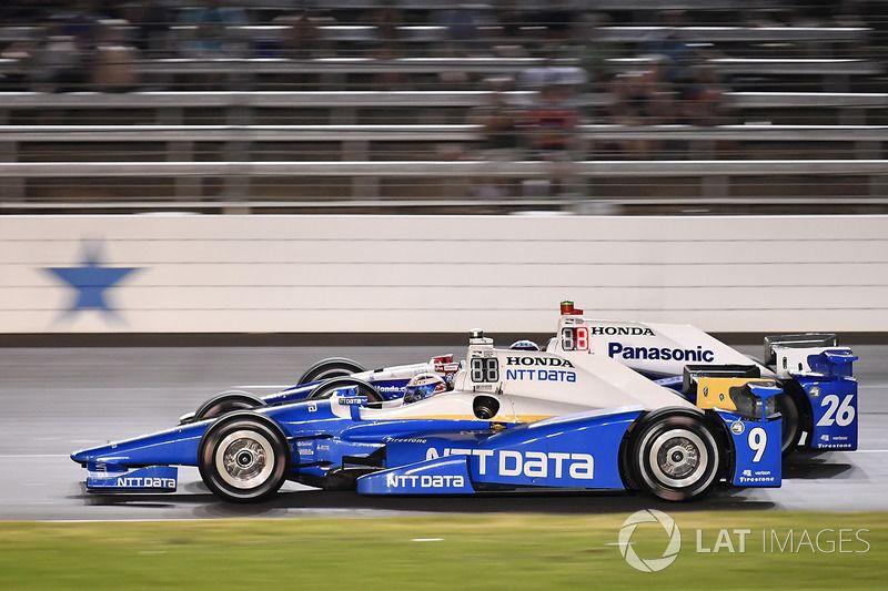 Scott Dixon, Chip Ganassi Racing Honda At Texas