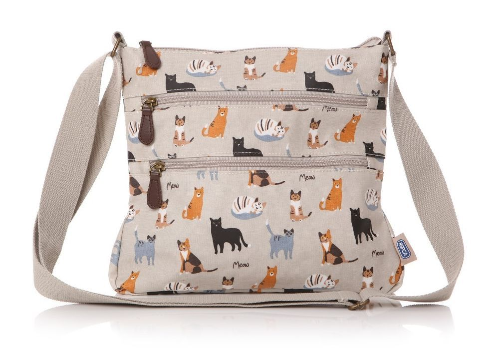 662bb0ec6993 RSPCA Cat Kitty Oilcloth Ladies Messenger Bag by Lisa Buckridge Shruti  Design in Clothes