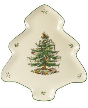 Christmas Bowls And Platters.Spode Christmas Tree Bowl And Platter Set Products